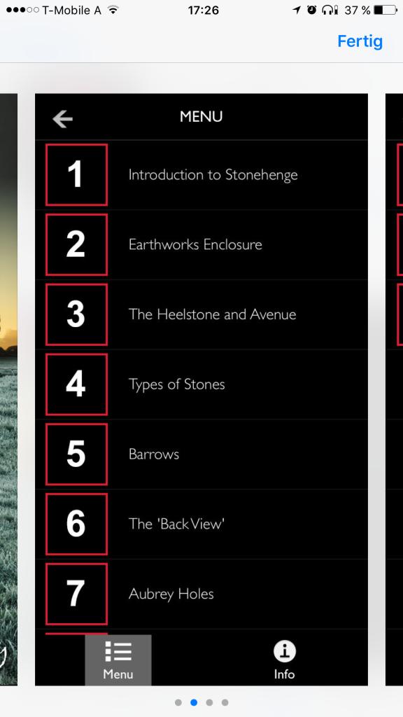 Stonehenge Audio Tour App